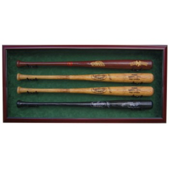 Elite Display Case For 4 Baseball Bats