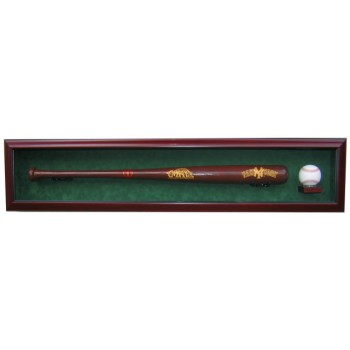 Elite Baseball Bat And Baseball Display