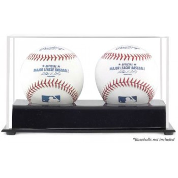 Double Baseball Display Case - Acrylic
