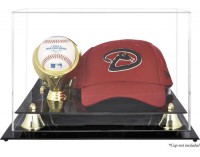 Baseball Cap & Ball Display Case - Acrylic