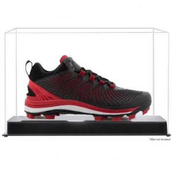 Baseball Shoe Or Cleat Display Case Up To Size 19