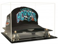 Basketball Cap Display Case With Risers - Acrylic