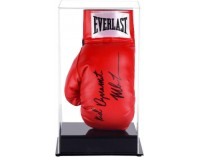 Vertical Boxing Glove Display Case - Acrylic