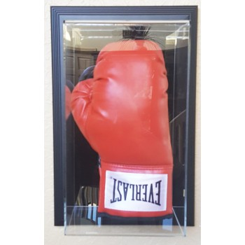 Vertical Boxing Glove Display Case - Wall Mounted