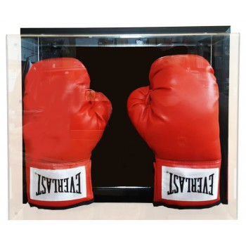 Wall Mountable Double Boxing Glove Display Case