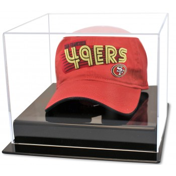 Football Cap Or Hat Display Case - Acrylic