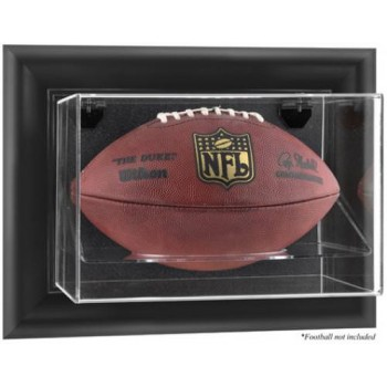 Horizontal Wall Mounted Football Display Case - Acrylic