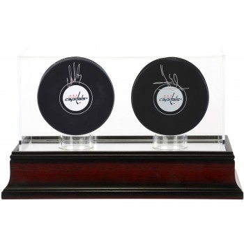 Double Hockey Puck Display Case - Acrylic