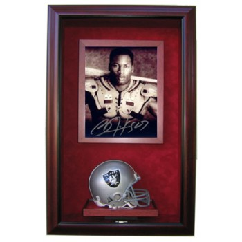 Elite Mini Helmet and 8x10 Display Case