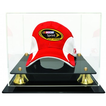 Racing Cap Display Case With Risers