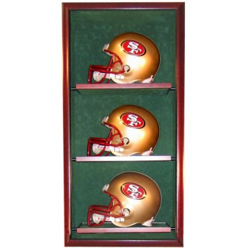 Elite Triple Helmet Display Case