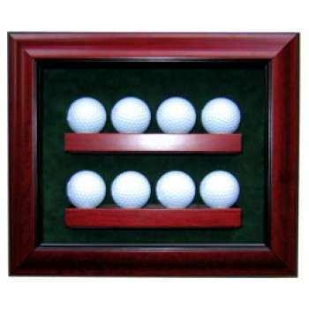 Elite 8 Golf Ball Display Case