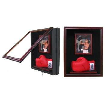 Elite Boxing Glove and 8x10 Display Case